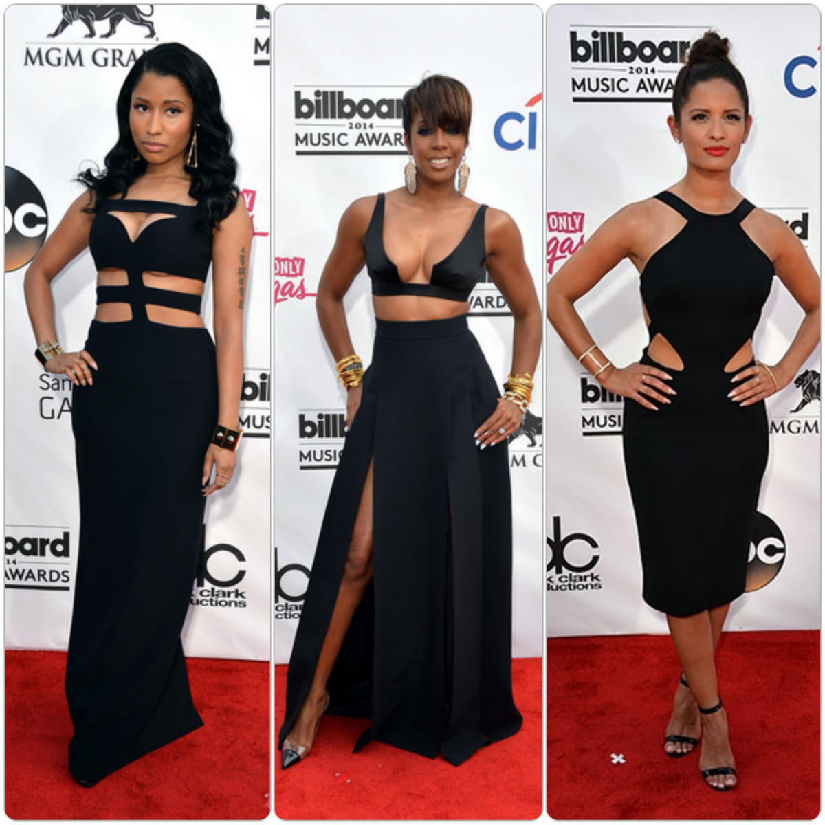 Nicki-Minaj-Kelly-Rowland-Rocsi-Diaz-Billboard-2014