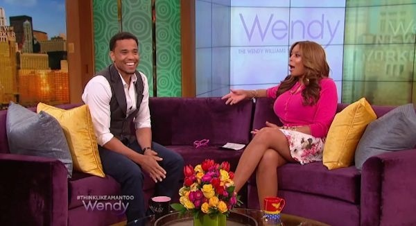 Michael Ealy et Wendy Williams