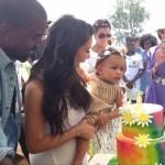 Kim Kardashian et Kanye West organise unr grosse fête pour les un an de leur fille North