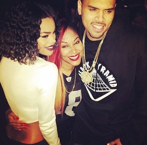 Chris Brown et Teyana Taylor