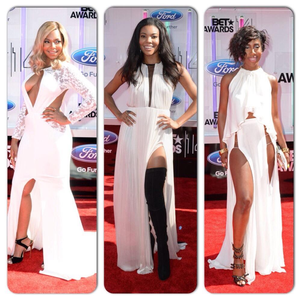 Ashanti, Gabrielle Union, Sevyn Streeter BET Awards 2014