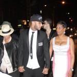 Swizz Beatz amène sa mère et sa femme Alicia Keys à l'anniversaire de Carmelo Anthony