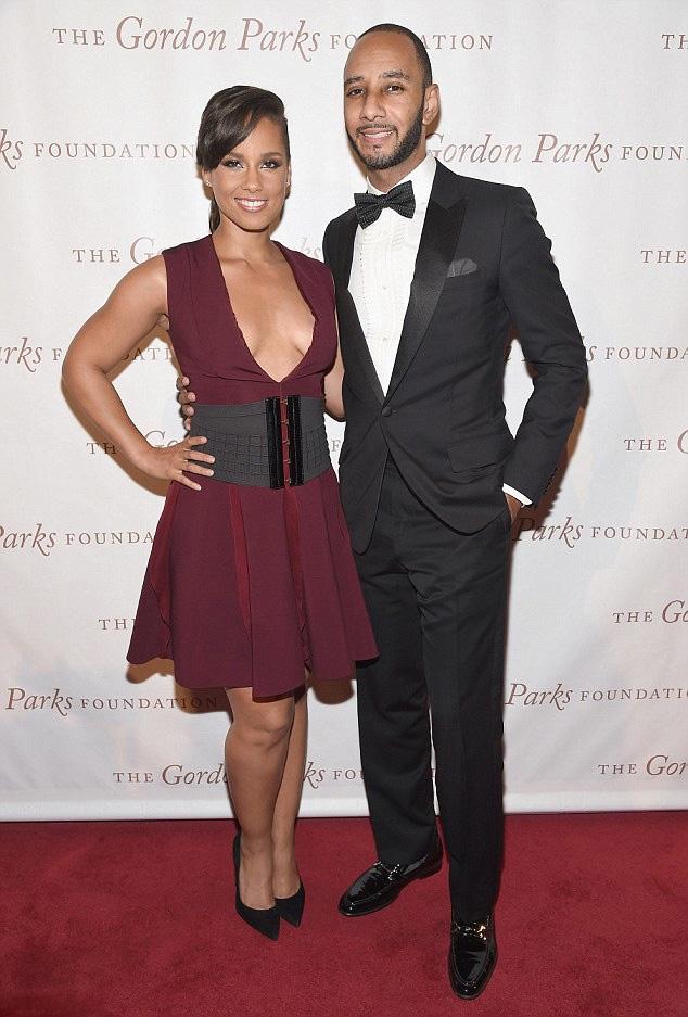 Alicia-Keys-Swizz-Beatz-Gordan Parks Foundation Awards