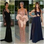 Rihanna quasi nue, reçoit l'icône de la mode aux CFDA Awards 2014