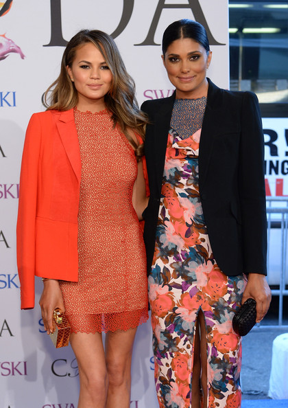 Chrissy-Teigen-Rachel-Roy-CFDA-Fashion-Awards-2014