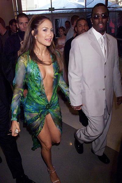 Jennifer-Lopez et Diddy Grammy-2000-