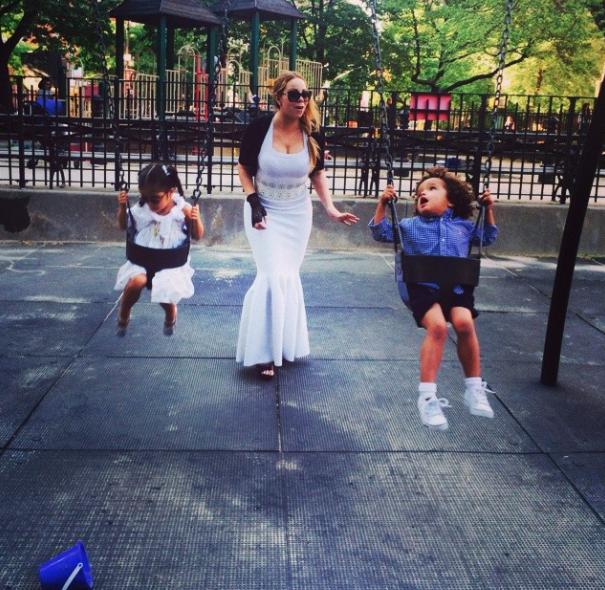 Mariah-Carey-et-enfants