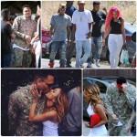 Karrueche Tran organise une fête pour Chris Brown sorti de prison