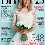 Ciara fait la une de Brides Magazine