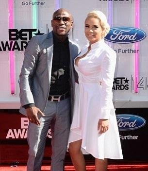 Floyd Mayweather et sa petite amie aux BET Awards 2014