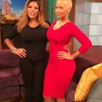 Amber Rose toute sexy chez Wendy Williams