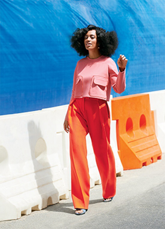 Solange Knowles Lucky magazine