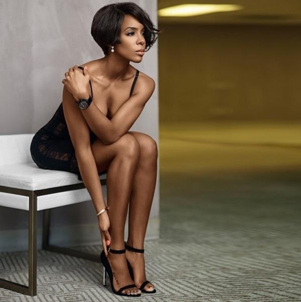 Kelly Rowland pose pour TW Steel