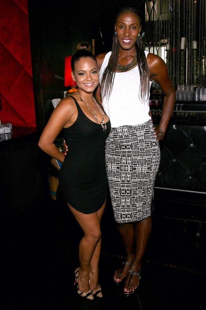 Christina Milian GBK Luxury Lounge