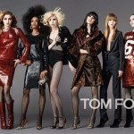 Yaya Dacosta pose pour la nouvelle campagne de Tom Ford