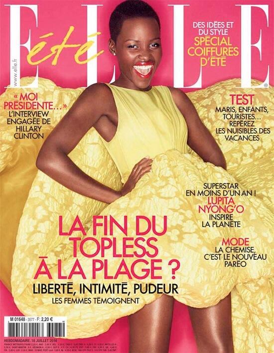 Lupita Nyong'o Elle Magazine