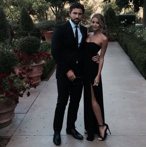 Brody Jenner et sa petite amie Kaitlynn Carter