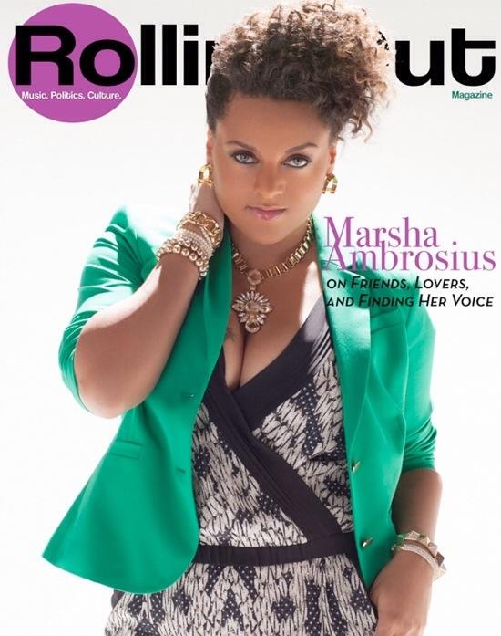 Marsha Ambrosius Rolling Out Magazine