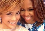 Jennifer Lopez et Michelle Obama