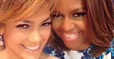 Jennifer Lopez et Michelle Obama