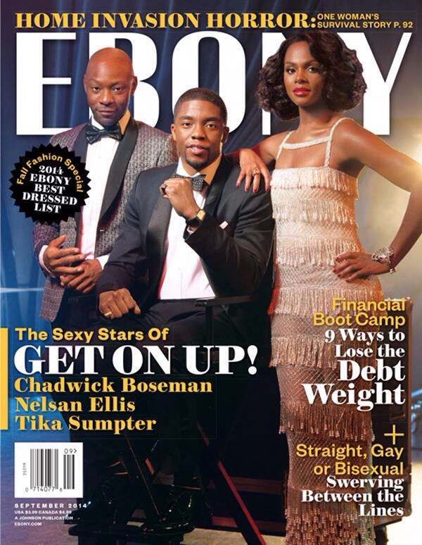 Get Up On à la une de Ebony Magazine