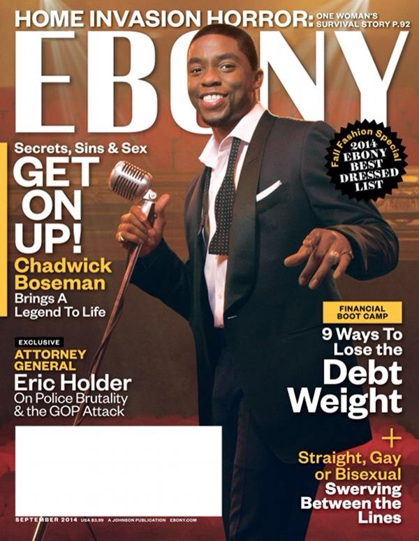 Get On Up à la une de Ebony Magazine