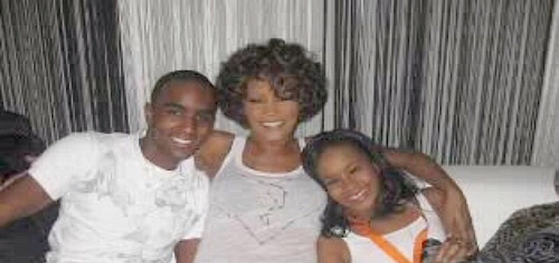 Nick Gordon, Bobbi Kristina en compagnie de Withney Houston
