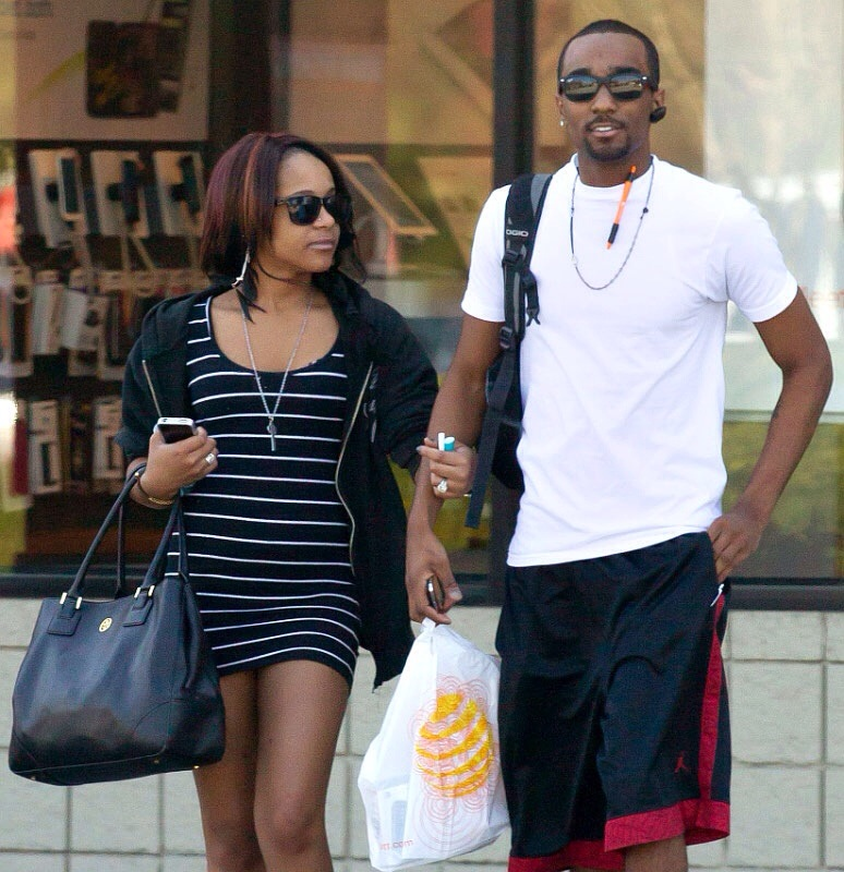 Nick Gordon et Bobbi Kristina