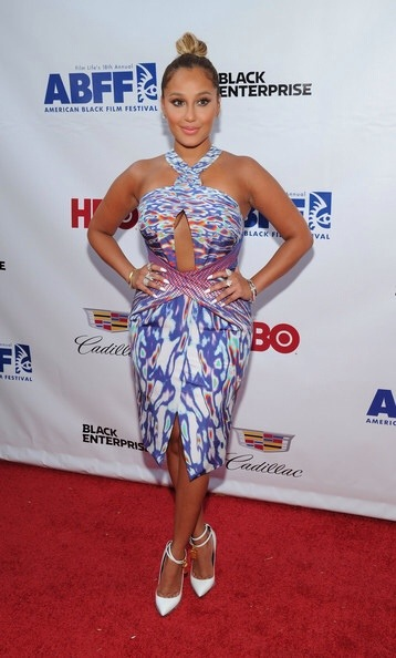 Adrienne Bailon Think Like A Man 2 Premiere