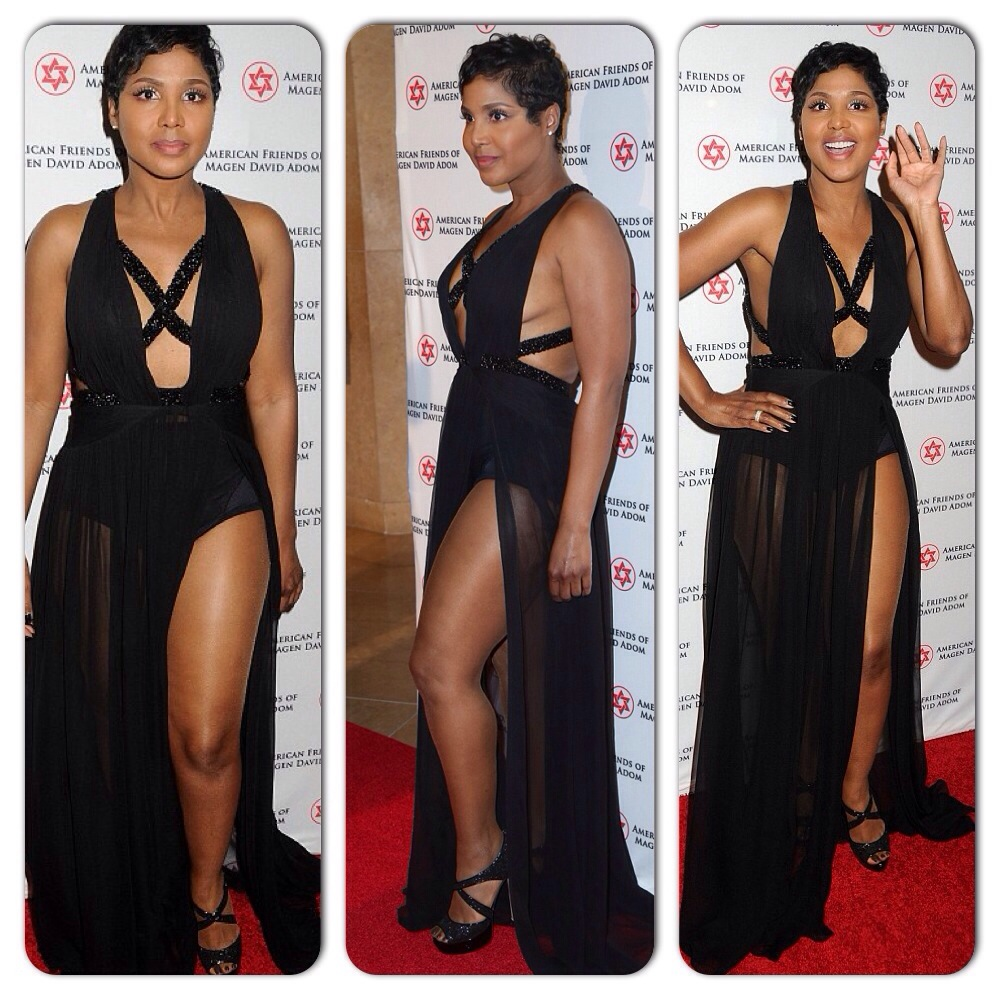 Toni Braxton Red Star Ball
