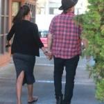Zoe Saldana passe du temps avec son homme