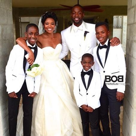 Gabrielle Union et Dwayne Wade mariage
