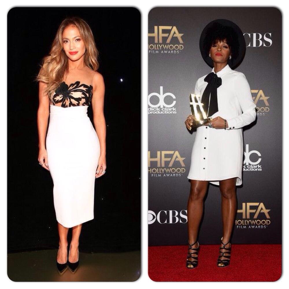 Jennifer Lopez et Janelle Monae Hollywood Film Awards