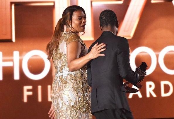 Queen Latifah et Chris Rock Hollywood Film Awards 2014