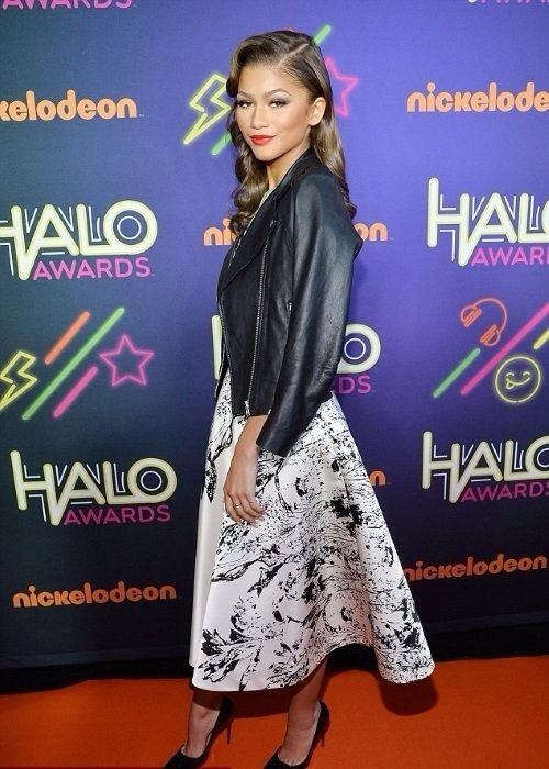 Zendaya Coleman Nickelodeon HALO Awards 2014