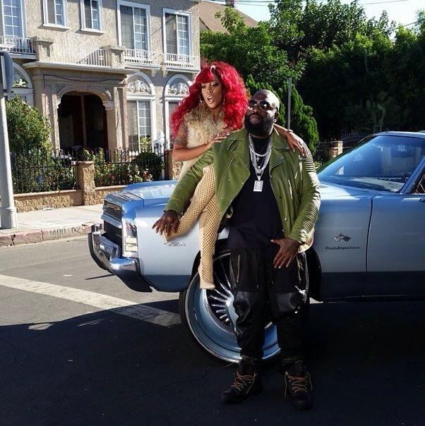 Rick Ross et K. Michelle dans If The New