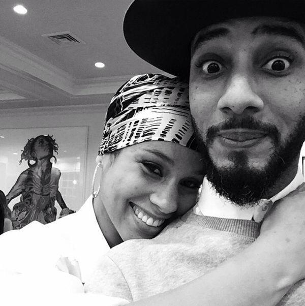 Alicia Keys et Swizz Beatz Thanksgiving 2014