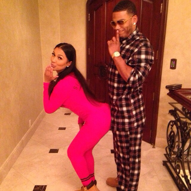 Nelly et Shantel Jackson