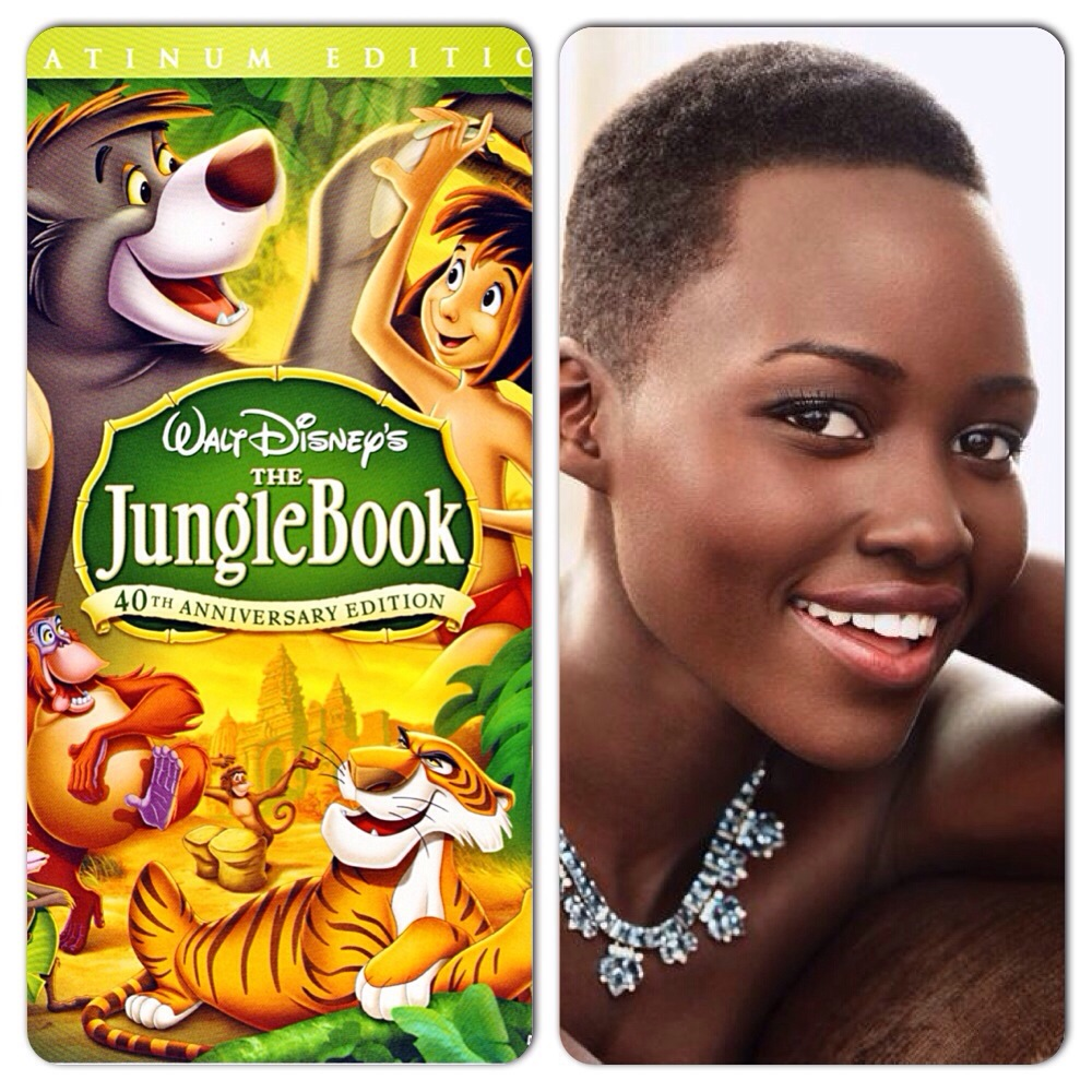 Lupita Nyong'o dans Jungle Book