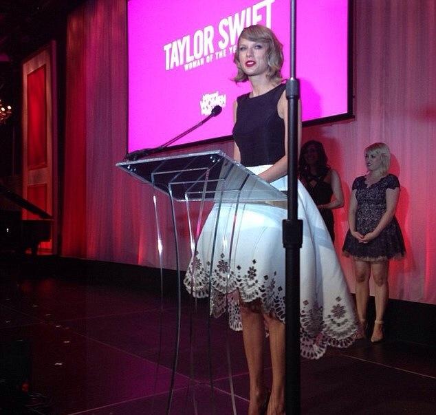 Taylor Swift au Billboard Women In Music Luncheon