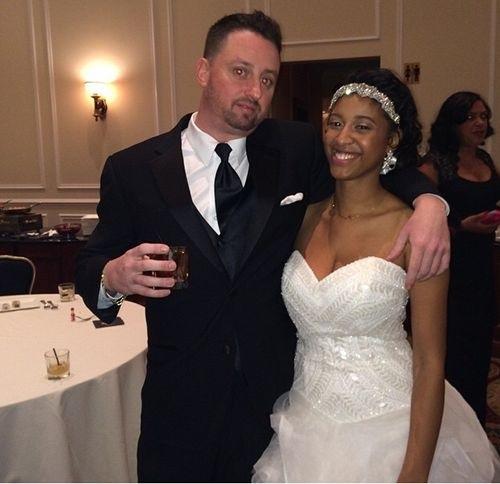 mariage de Memphis et Ashley Coombs