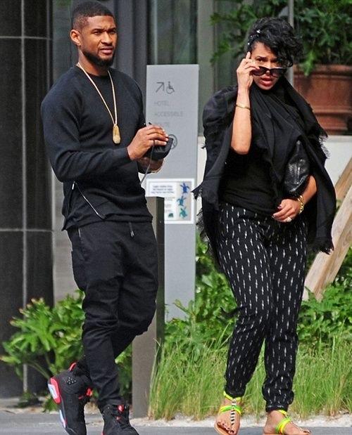 Usher et Grace Miguel