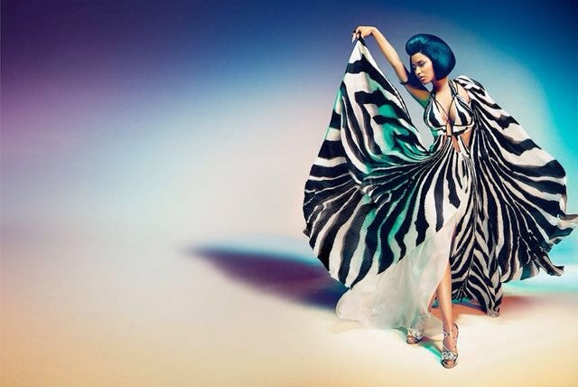 Nicki Minaj égerie de Roberto Cavalli 2015
