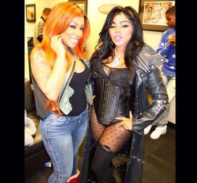K. Michelle et Lil Kim
