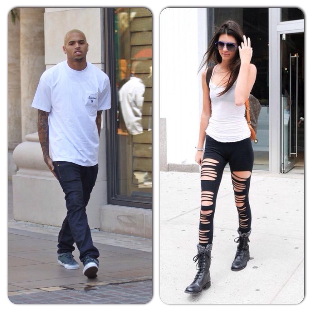 Chris Brown et Kendall Jenner