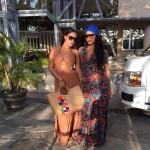 Ludacris, Eudoxie, Monica et leurs proches passent les fêtes au Costa Rica