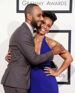 Alicia Keys et Swizz Beatz Grammy