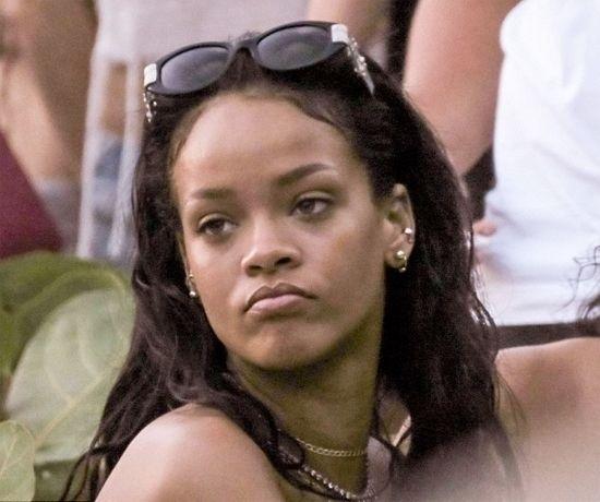 Rihanna bikini new year 2015