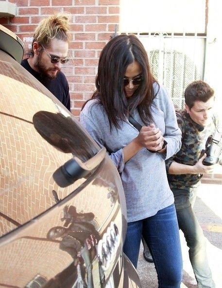 Zoe Saldana, son mari et ses jumeaux font leur première sortie