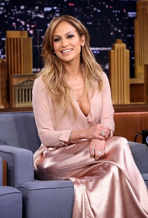 Jennifer Lopez on the Jimmy Fallon